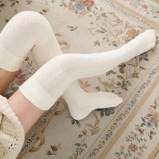 98e81280d White lace top bow socks