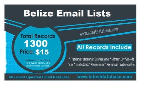 BelizeEmailLists Belize Email Lists Build Your Email Marketing Lists