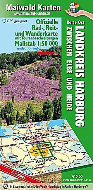 Landkreis Harburg Karte Ost Buch Versandkostenfrei Bei Weltbild