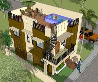 House Plan Designer And Builder House Designer And Builder In 2020 Model House Plan House Plans Narrow House Designs