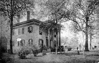 Tranquilla , above, was owned by Andrew Jackson Hansell. He went off to fight with the CSA in the Civil War. Hansell, ref.