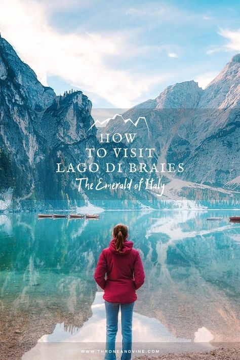 How to visit Lago di Braies (without the crowds)