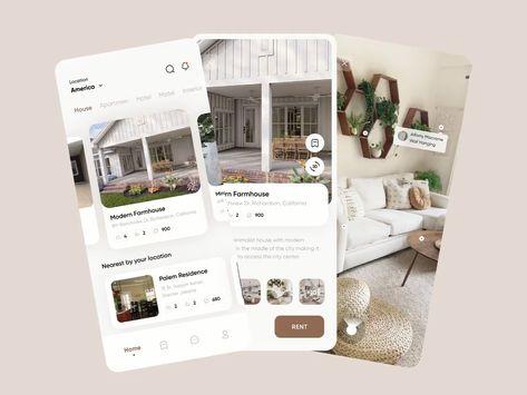 Real Estate UI Design
