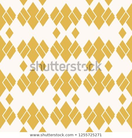 Rhombus Pattern Vector Abstract Geometric Seamless Texture