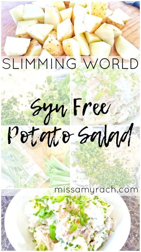 Slimming World Recipe - Syn Free Potato Salad - Featured Image