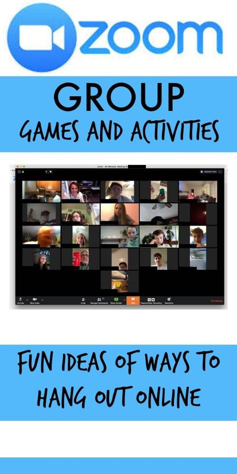 Zoom Games and Activity Ideas - Sugar Bee Crafts games for kids ideas Youth Group Activities, Youth Games, Learning Games, Games For Kids, Fun Activities, Activity Ideas, Youth Groups, Sisterhood Activities, Leadership Activities