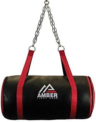 Amber MMA Training Boxing Heavy Punching Bag Body Snatcher Unfilled