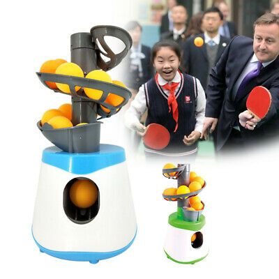 Advertisement Ebay Ping Pong Table Tennis Robot Automatic Ball Serve Machine For Training In 2020 Table Tennis Robot Table Tennis Ping Pong Table Tennis