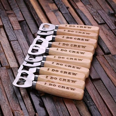 I Do Crew Personalized Wedding Beer Bottle Openers for Groomsmen Gifts Gifts For Wedding Party, Wedding Favors, Wedding Decorations, Craft Beer Wedding, Wedding Souvenir, Wedding Centerpieces, Table Centerpieces, Wedding Invitations, Best Groomsmen Gifts