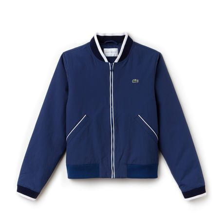4b65016cc Women's SPORT Water-Resistant Zip Tennis Bomber Jacket | designs ...