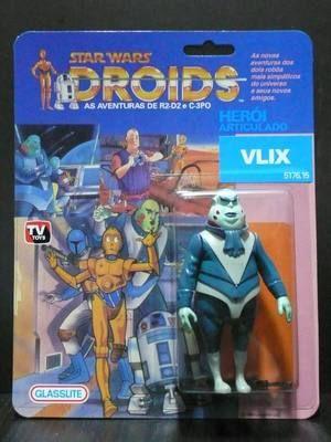 Custom Vintage Star Wars Droids Glasslite VLIX
