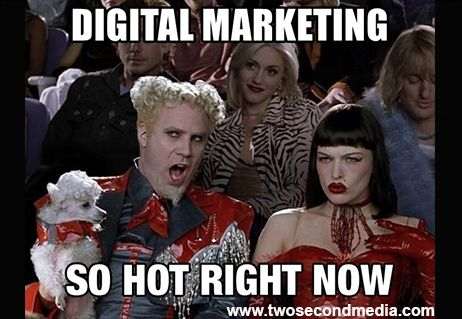 Digital Marketing Is Really Hot Right Now Two Second Media Is A Phoenix Marketing And Advertising Company Www Twosecondmedi Workout Humor Gym Memes Gym Humor
