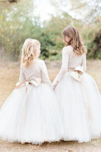 6a960141de 21 Flower Girl Dresses To Create A Magic Look | R&R | Flower girl ...