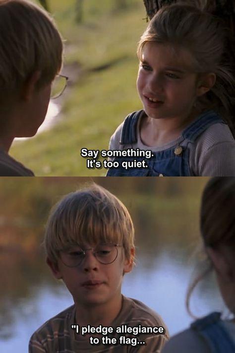 """Say something.."" ~ My Girl (1991) ~ Movie Quote #amusementphile"