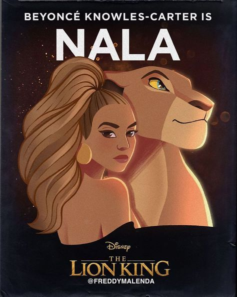 """Illustratebey on Instagram: """"Who has seen the remake of the lion king? #thelionking #thegift #nala #disney"""""""