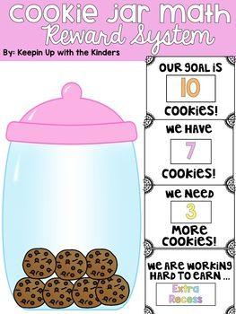 Cookie Jar Math Reward System Editable Reward System Classroom Reward System Classroom Rewards