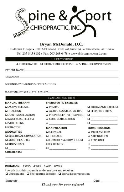 Chiropractic X Ray Report Template 5 Templates Example Templates Example Report Template Chiropractic Professional Templates