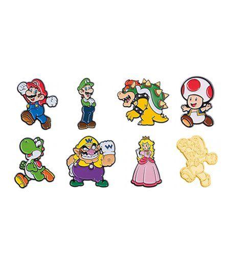 Super Mario Pin Collector Series 1-Mario