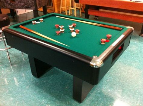 Bumper Pool Table with sticks and complete set of balls disney