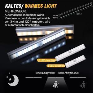 Led Beleuchtung Mit Bewegungssensor Abrana In 2020 Led Closet Light Closet Lighting Motion Sensor Lights