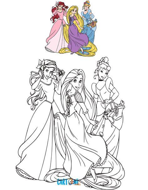 Disegni Da Colorare Disney Principesse Disegni Da Colorare