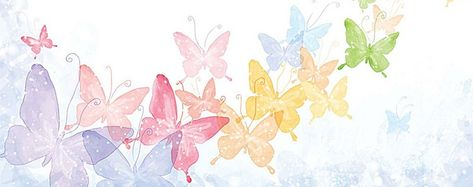 watercolor butterfly background, Watercolor, Hand Painted, Butterfly, Background image