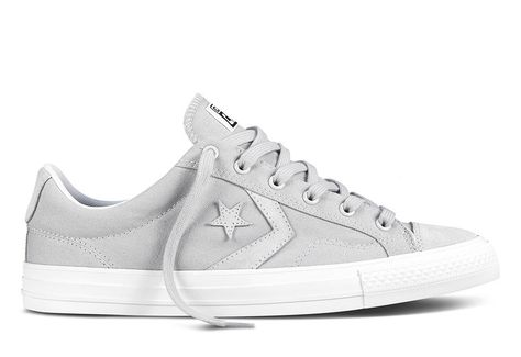 Discount Converse Star Player Hi High Shoes Men Black Gray