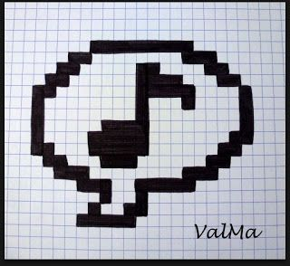 A Faire Dans Plusieurs Couleurs Dessin Pixel Pixel Art