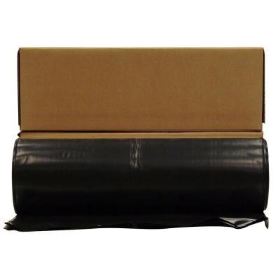 Husky 20 Ft X 100 Ft Black 10 Mil Plastic Sheeting 12 Rolls Pallet Blacks Black Plastic Sheeting Plastic Sheets Plastic