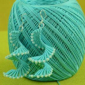 Crochet jewelry 316659417543724619 - How to: Macrame Spiral Earrings Source by grigoriadoua Macrame Earrings Tutorial, Macrame Bracelet Patterns, Crochet Earrings Pattern, Crochet Jewelry Patterns, Earring Tutorial, Macrame Patterns, Crochet Accessories, Diy Earrings, Crochet Necklace