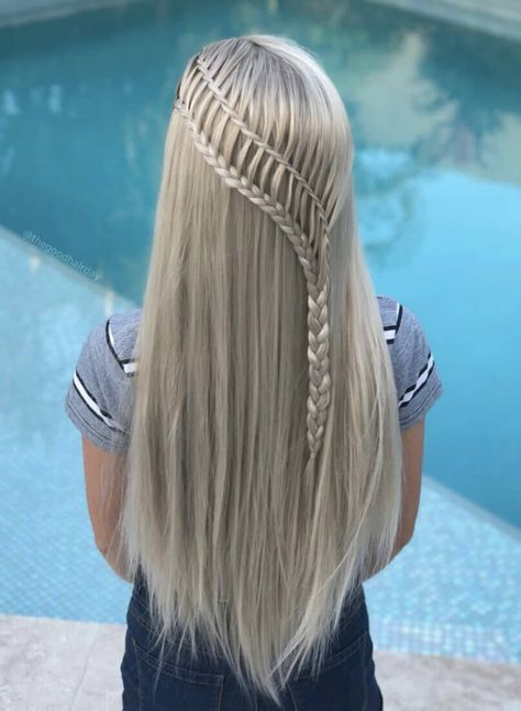 Braids are one of the most popular hairstyles of the decade, but do you know what all the different types of braids are? Find out now. different hair styles 12 Different Types of Braids You Should Totally Try (Tutorials Included) Party Hairstyles For Long Hair, Box Braids Hairstyles, Pretty Hairstyles, Blonde Hairstyles, Long Braided Hairstyles, Layered Hairstyles, Casual Hairstyles, Teenage Hairstyles, Ethnic Hairstyles