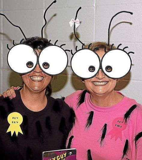 Industrial students, staff dress up for Book Character Day -- Bug Guy Costume! Easy and fun