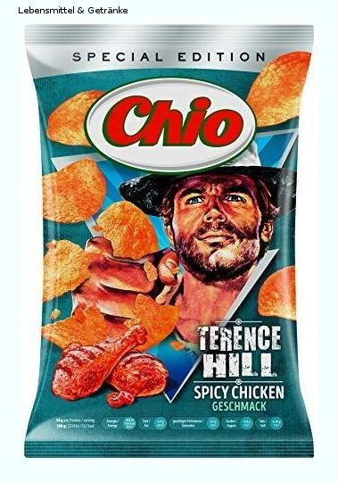 Chio Limited Edition Chio Chips Terence Hill 150 G Lebensmittel Getranke In 2019 Terence Hill Lebensmittel Und Chio