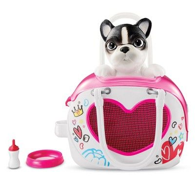Little Live Omg Pets Bestie Bag Puppy Toy Story Figures Baby Girl Toys Little Live Pets