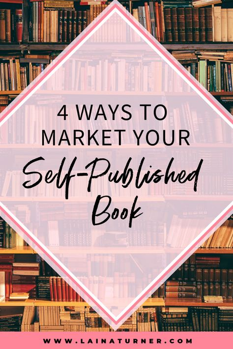 4 ways to market your self-published book - In Pursuit of Fabulous. publishing publish your own book how to make money writing how to make a living as a writer selling books sell more books indie authors indie publishing Fiction Writing, Writing A Book, Writing Tips, Writing Goals, Book Publishing Companies, Self Publishing, Amazon Publishing, Book Launch, Writing Resources