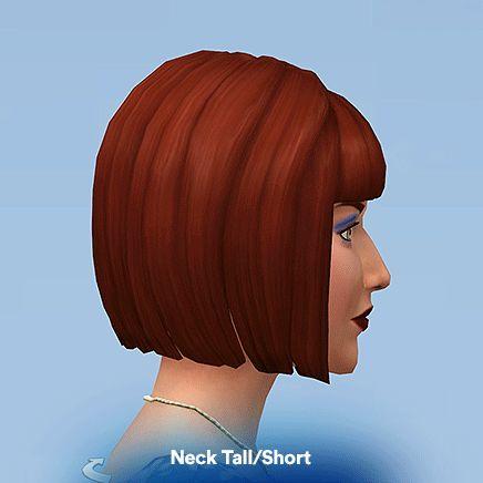 Luumia Sims : Neck Tall/Short Slider | Maxis Sims 4 CC