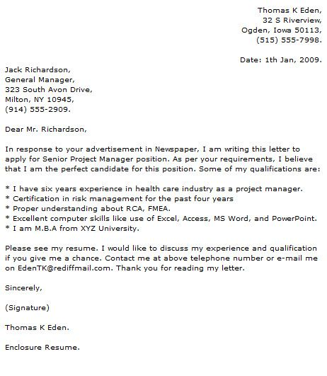 marketing project manager cover letter examples durdgereport web - sr project manager resume