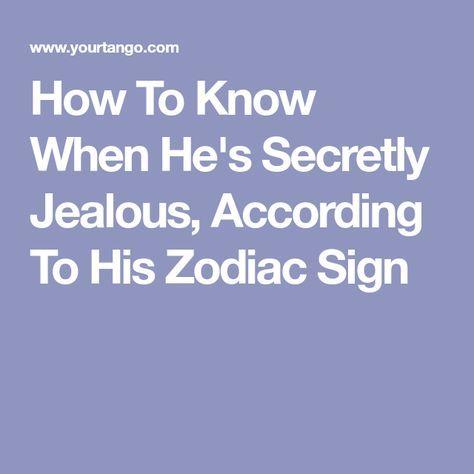 Sagittarius man jealous signs