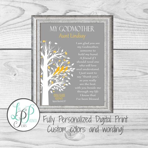 List of Pinterest godparents gifts christmas etsy pictures ...