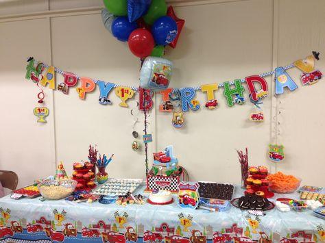 Fabulous Cars First Birthday First Birthdays Birthday Cake Pops Funny Birthday Cards Online Hendilapandamsfinfo