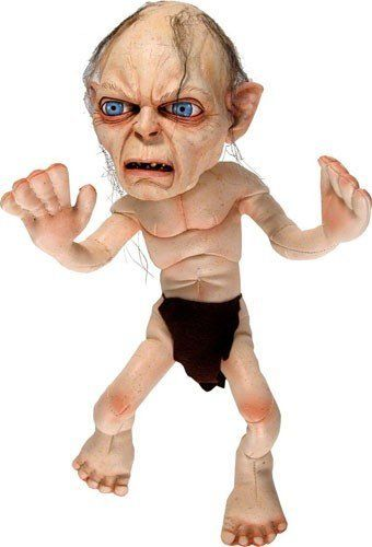Neca Lord Of The Rings Lotr Gollum Plush Doll Toys Games Gollum Smeagol Plush Lord Of The Rings