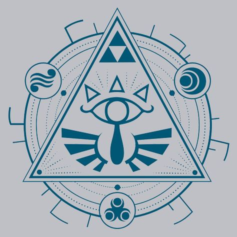 Triforce linework. Google search tattoo s
