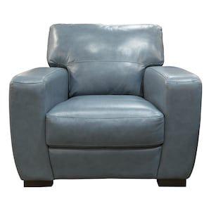 Leather Chair In Houston Steel Blue Nebraska Furniture Mart Nebraska Furniture Mart Furniture Mart Furniture