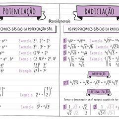 Pin De Luciana Ribeiro Em Study Notes Em 2020 Potenciacao E