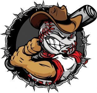 Baseball Cartoon Characters Vector In 2020 Baseball Teams Logo Baseball Painting Baseball Videos