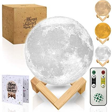 Moon Lamp With Timer Moon Light 3d Moon Lamp Seamless Moon Night Light With Stand Mood Globe Cool Lamp Gift With In 2020 Cool Lamps Mood Lamps Night Light