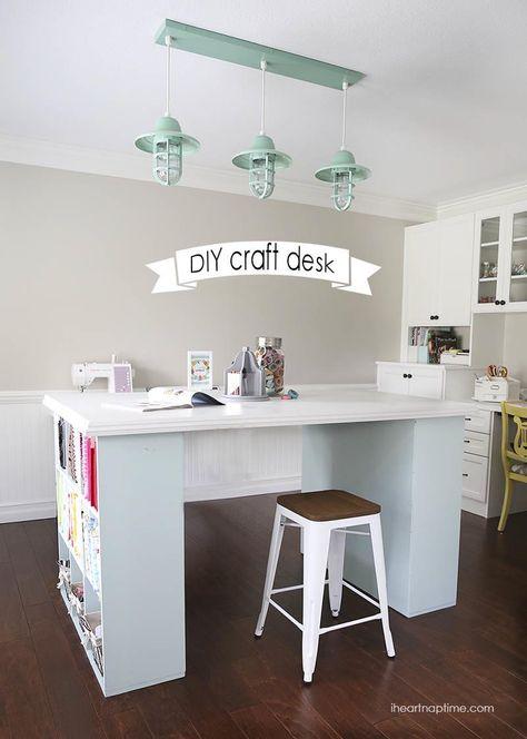 DIY project desk