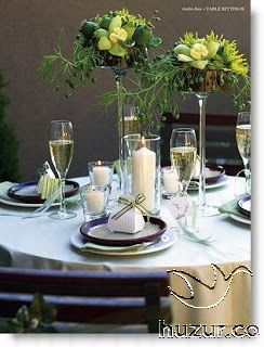 Ideen Fur Diashow Hochzeit Table Settings Scenes Settings
