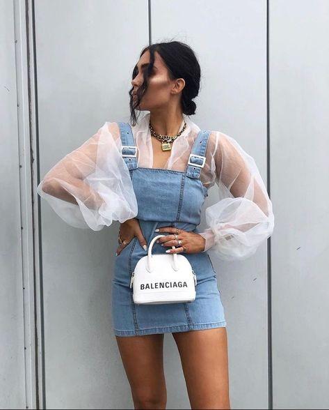 Stargaze Party Minikleid Mit Rüschen - Kleider