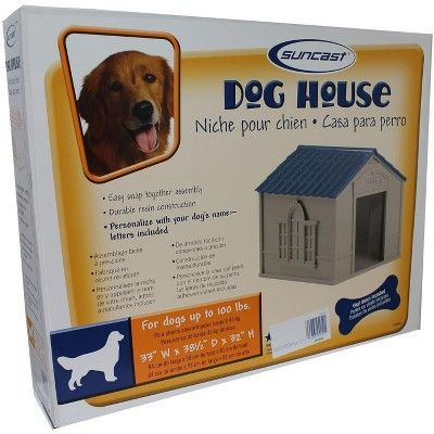 Giant Dog House Kennel Outdoor Xl Home Dogs Shelter Pet Heavy Duty